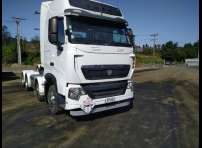 D/G spec Sinotruk T7H 8x4 540hp tractor unit